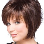 Стрижка шапочка на средние волосы