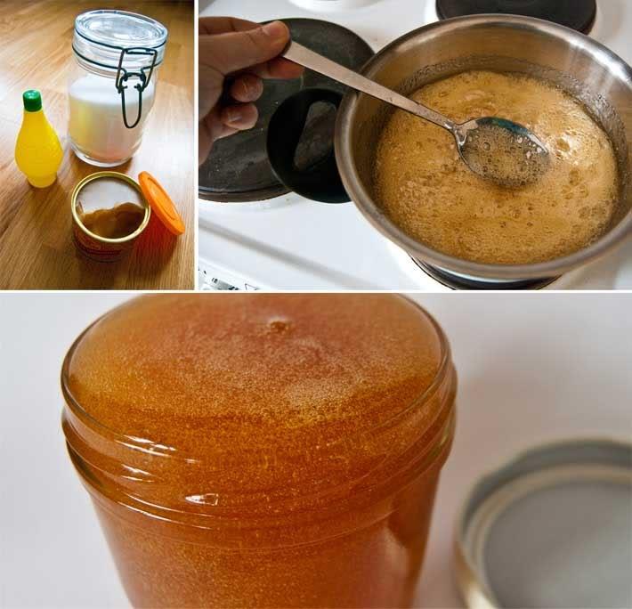 Рецепт сахарной пасты для депиляции