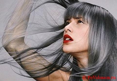 непонятный цвет волос