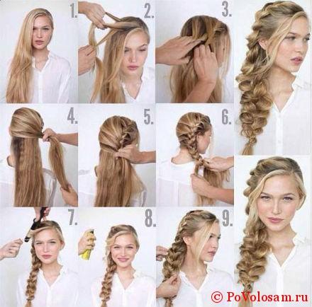 коса инструкция