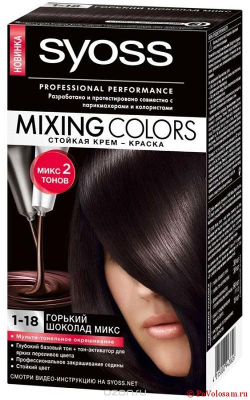 Краска для волос syoss Mixing Colors
