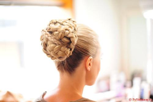 гулька из косы