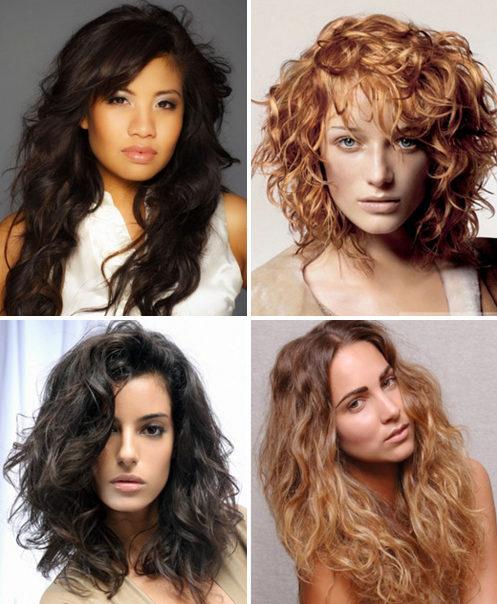 Вьющиеся волосы - укладка
