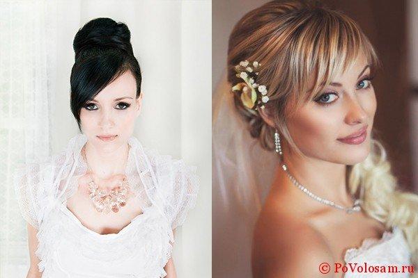 Свадебные прически на средние и длинные волосы с фото и видео