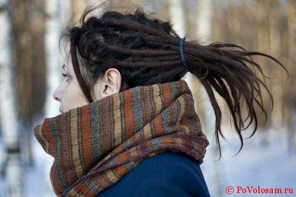 Как ухаживать за дредами зимой