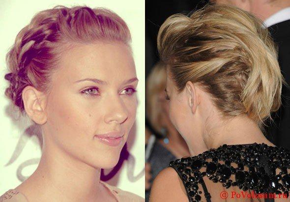 Звезды с косами на коротком волосе