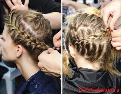 Как заплетать косы в короткие волосы?