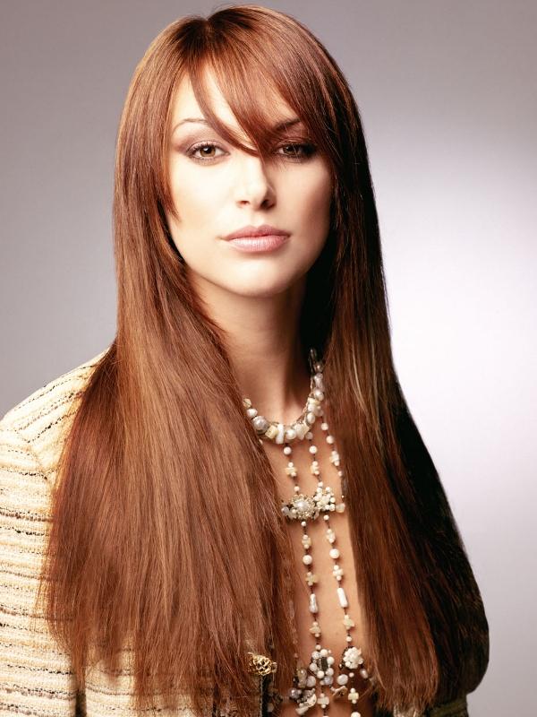 Фото стрижек две длины на длинные волосы