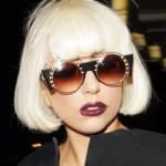Lady Gaga стрижка боб с челкой