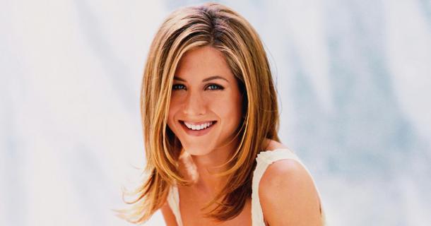 Jennifer Aniston стрижка каскад