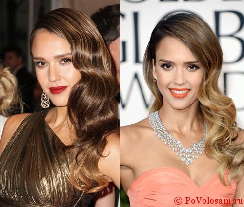 Jessica  Alba До и после
