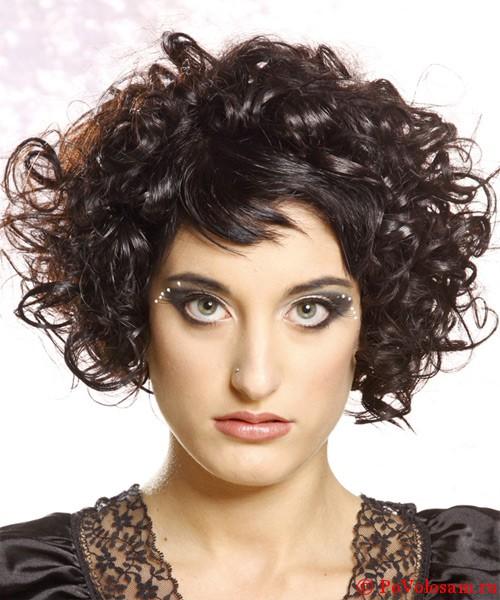 Прически с завивкой на короткие волосы