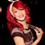 Rihanna Прическа кудри