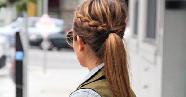 Красивые прически на длинные волосы - c218c