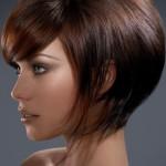 Укладка стрижки боб на короткие волосы