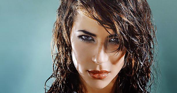 Как сделать эффект мокрых волос