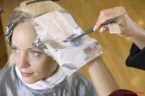 Как правильно осветлять волосы краской в домашних условиях