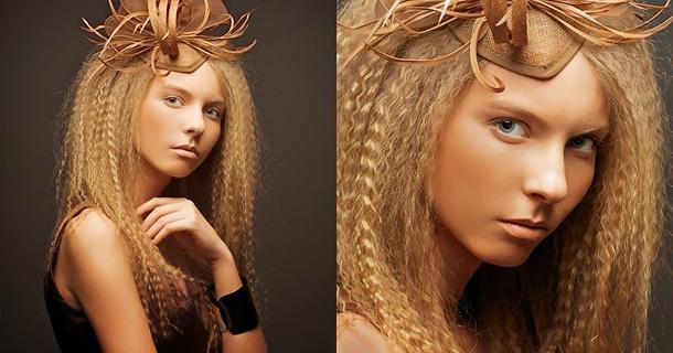 Гофре для длинных волос