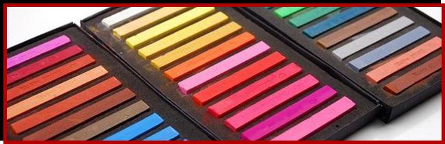 Цветная пестель для окрашивания