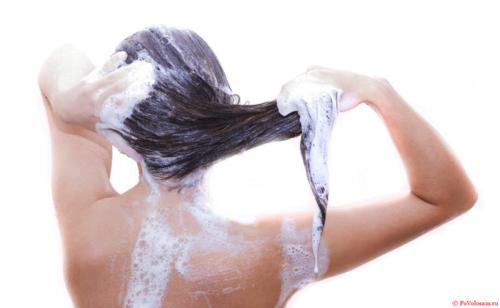 как правильно мыть голову мылом