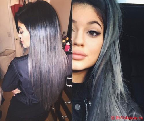 Холодный яркий цвет волос
