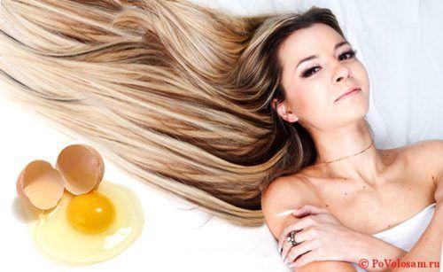 как мыть голову яйцом