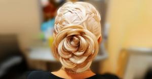 Роза - цветок из волос
