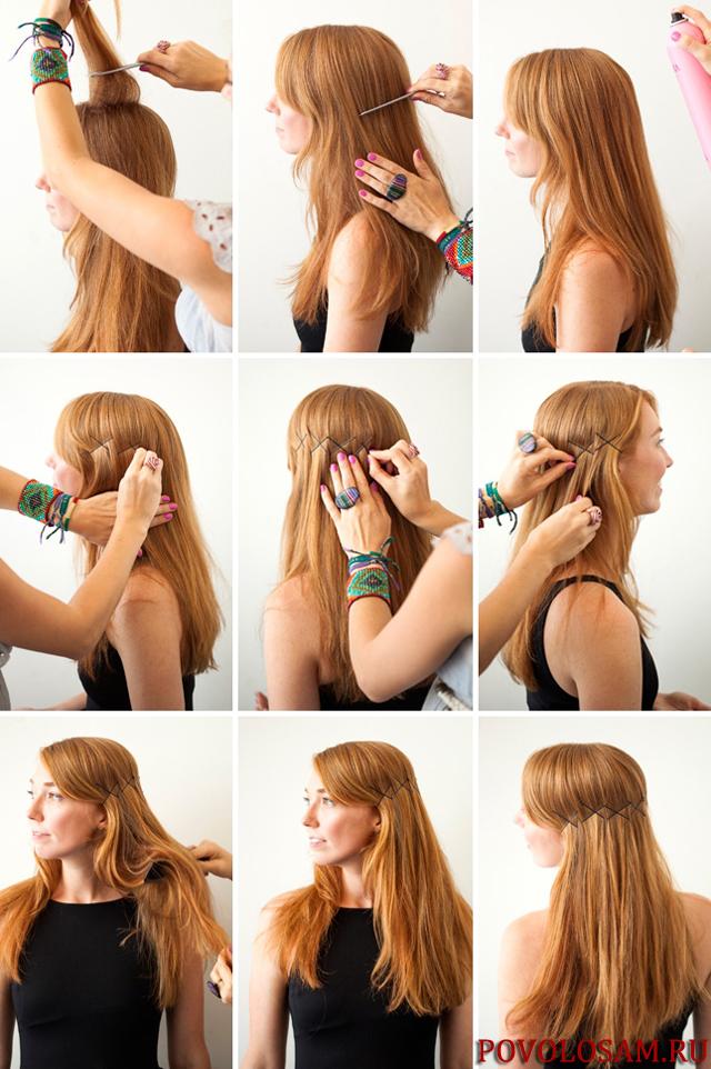 Что можно сделать с волосами своими руками 84