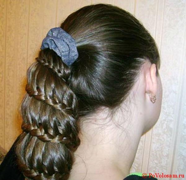 Плетение волос с видео для детей