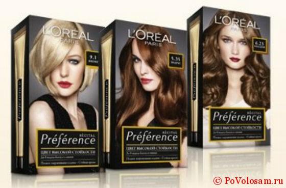 Краска для волос лореаль преферанс отзывы