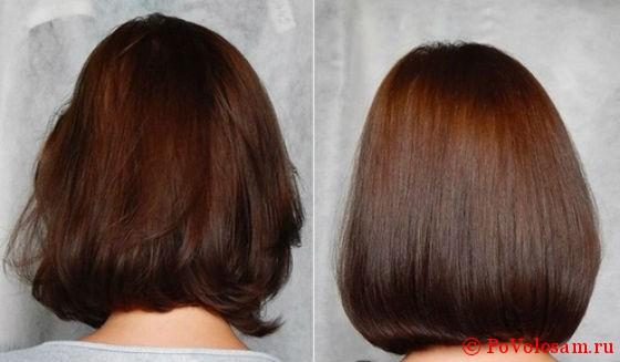 Ламинирование волос отличия