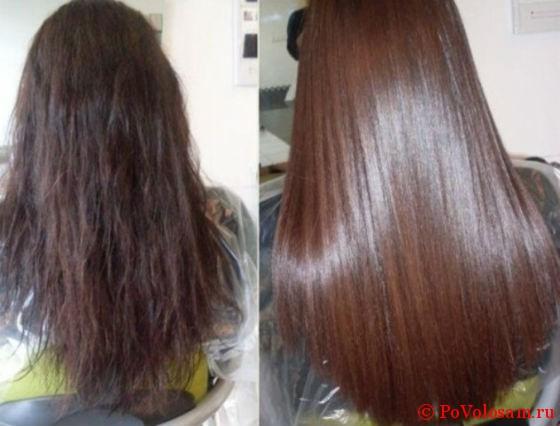 Ламинирование волос различия