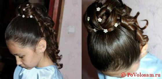 Причёски для девочек на выпускной пошагово 29