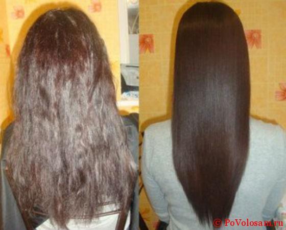 разница внешнего вида волос
