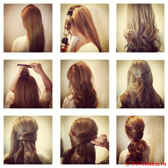 Объём волос своими руками