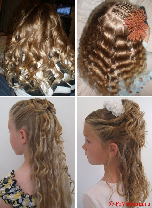 Женские стрижки с челкой на длинные волосы