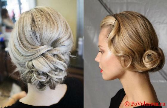 Волны волосы волнами прическа