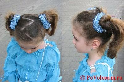 detskaya-pricheska-iz-dvuh-hvostov