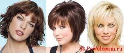 Прически на стрижку каскад средние волосы