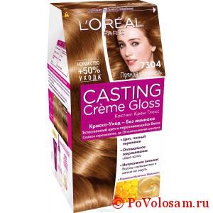 Краска для волос лореаль кастинг крем глосс: палитра цветов