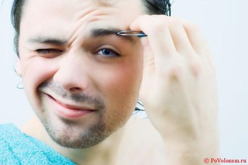 как щипать волоски