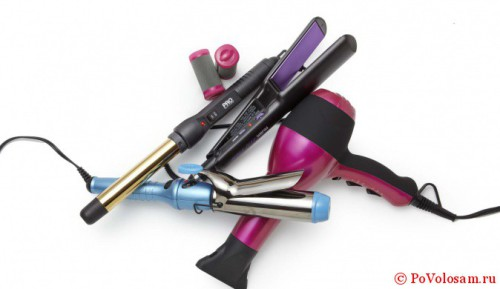 Профессиональные инструменты для причесок