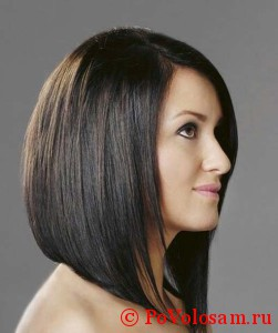 Стрижка боб на длинные волосы: фото видео