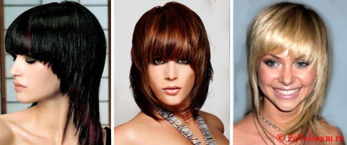 сессун средние волосы