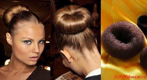 Причёски-с-помощью-резинки
