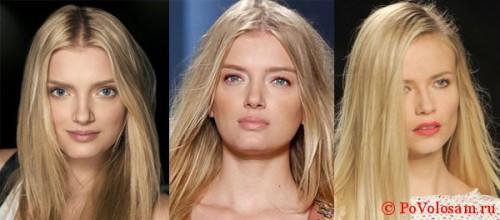 Стрижки на длинные волосы для квадратного лица