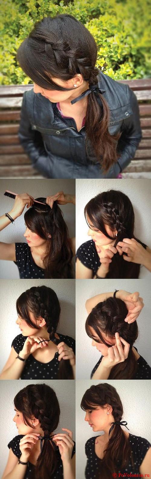 ретро коса