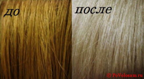 Как сделать смывку волос в домашних фото 191