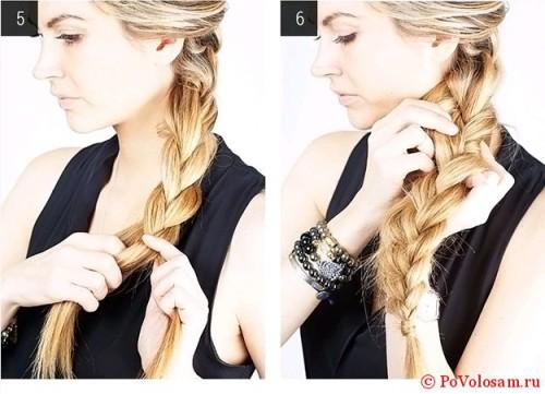 плетем косу
