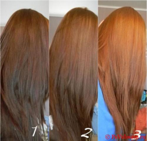 Как сделать смывку волос в домашних фото 969